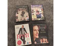 Romantic Comedy Drama DVD Film Bundle