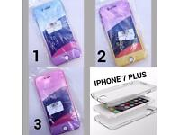 IPHONE 7 PLUS 360 SILICONE MOBILE PHONE CASE COVERS