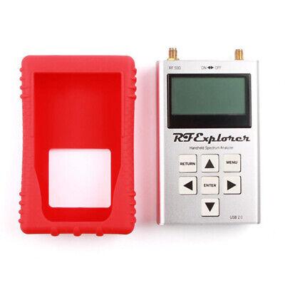 Portable Rf Handheld Signal Generator Spectrum Analyzer Rubber Case Red