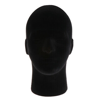 Foam Mannequin Manikin Head Model Glasses Display Model Black 10