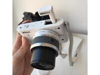 Nikon 1 compact system digital camera with lens kit J1 J2