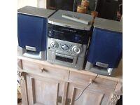 AWIA midi Sterio CD player, Tape,Radio,remote control very good condition.