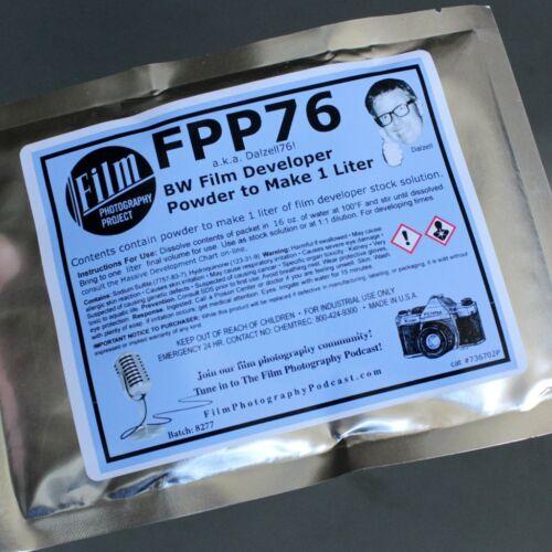 FPP-76 BW Film Developer (D-76) Powder Mixes To 1 Liter