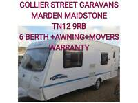 2004 Bailey ranger 550-6 berth awning and movers