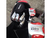 Selling masters golf set trolley and bag