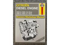 HAYNES CITROEN DIESEL ENGINE OWNERS WORKSHOP MANUAL