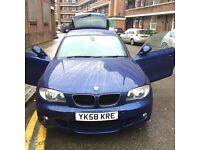 BMW 1 series 118D M SPORT diesel MOT 2017 sep, ROADTAX £30