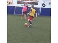 Ladies football in Leeds City - 5 aside football. Women/girls wanted