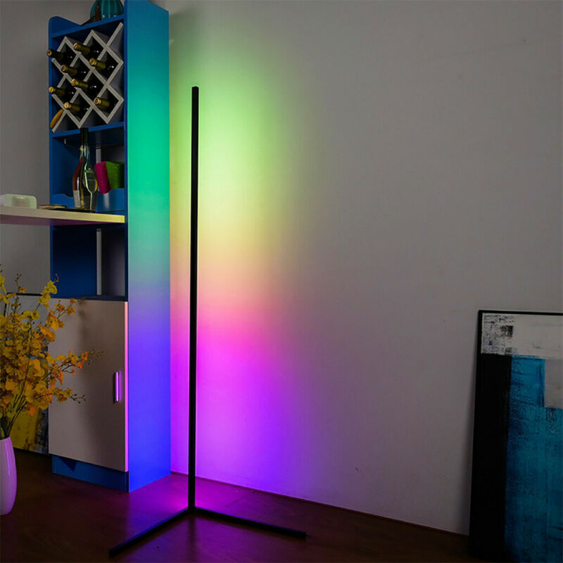 led corner floor lamp hue rgb colours