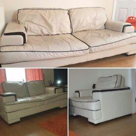 3 piece DFS Sofas