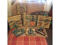Handcrafted, Artist Signed Nautical Scenes