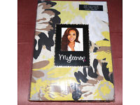 myleene klass single duvet covet set, floral and leopard print, cover and pillow case, new in packet