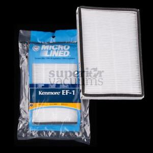 """Hepa Exhaust Filter Ef1 For Upright Sears Kenmore Type 86889 4"""" X 6"""" Panasonic"""