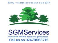 SGMServices landscaping and gardening