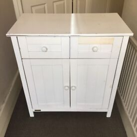 *EAST COAST : White Chest of Drawers Cupboard Cabinet Baby Table*