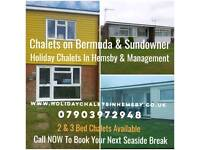 ☆☆2 & 3 Bed Chalets In Hemsby Gt Yarmouth Available School Summer Hols