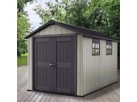 Keter Oakland Garden Shed 7511, 3.50m x 2.29m(7.5ft 11ft) Cheapest in UK !! BRAND NEW SEAL RRP £1000