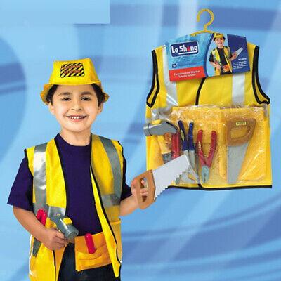 8 teile / satz Kinder Bauarbeiter Dress Up - Kleinkind Dress Up