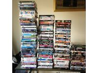 Various DVDs sale for 50p each or all lots offer