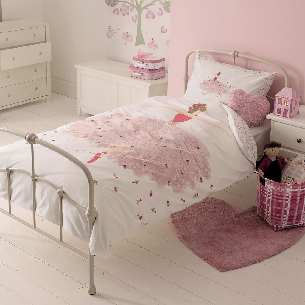 Laura Ashley ballet single bed set