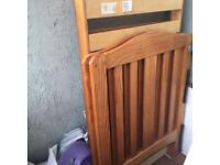 Cot and cot bed missing screws £10