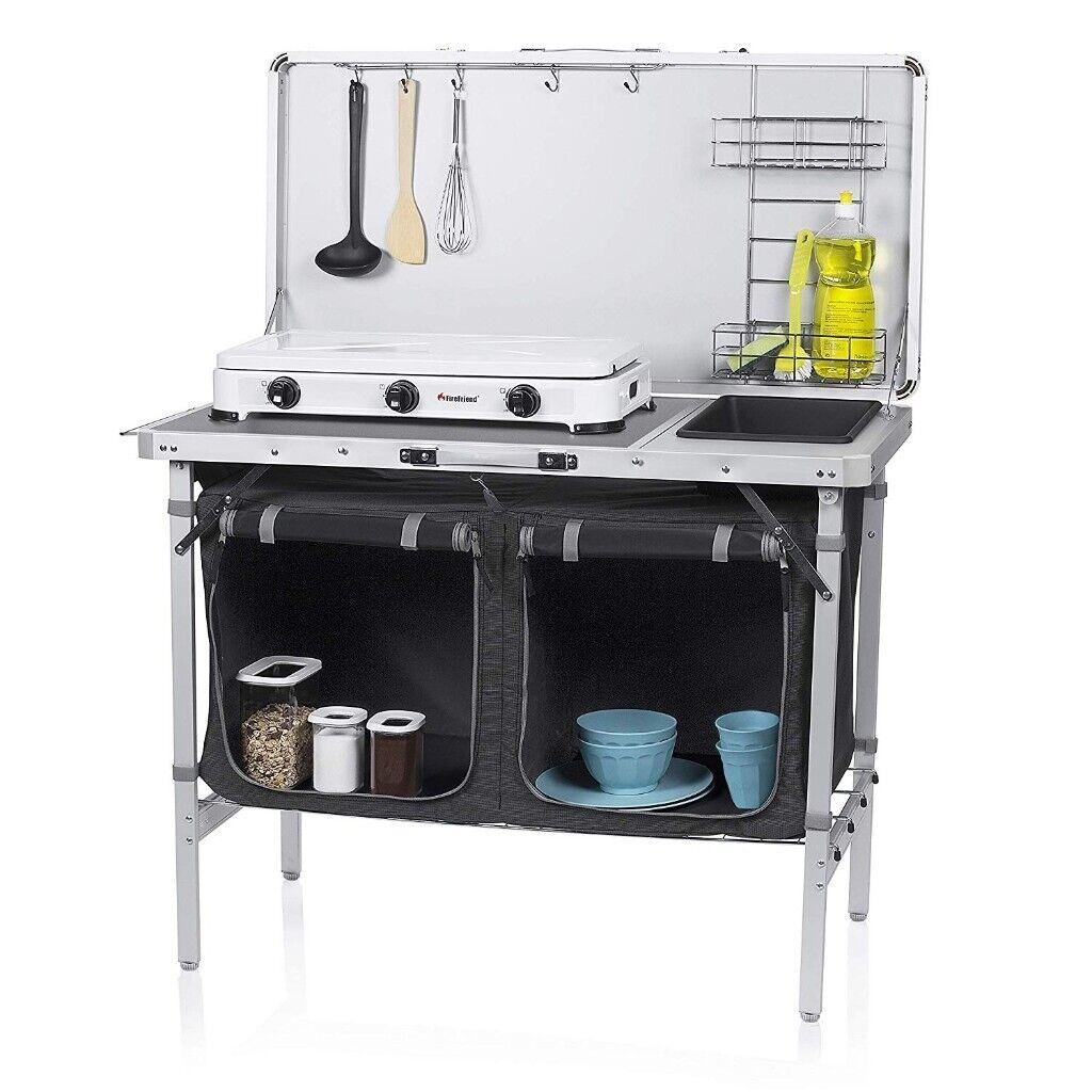Campart Travel Ki 0757 Outdoor Kitchen Granada Complete Kitchen