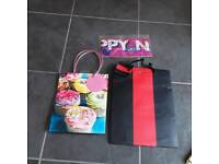 Gift bags and new year