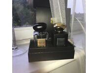 Armani Aftershave set