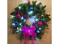 Door wreaths for sale.