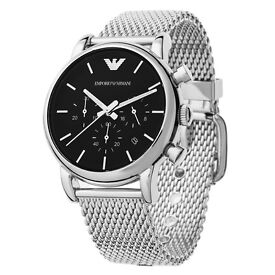 EMPORIO ARMANI MENS WATCH AR1811 12 MONTHS WARRANTY