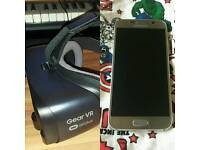 Samsung Galaxy S6 32GB unlocked with Gear VR Mk2 (great condition) PRICE DROPPED.