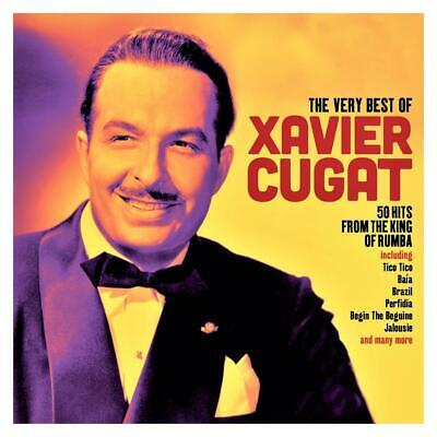 THE VERY BEST OF XAVIER CUGAT - 50 HITS FROM THE KING OF RUMBA (NEW 2CD