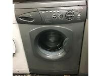 Silver Hotpoint wma washing machine