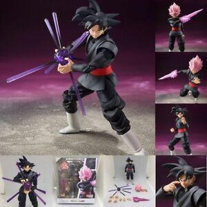 S.H.Figuarts SHF Dragon Ball Z Super Saiyan Goku Gokou Black Zamasu Figure Toy