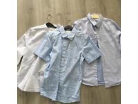 3 x Heirloom Collection John Lewis boys shirts