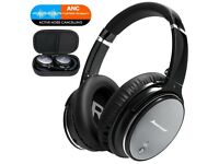 Bluetooth Headset with HiFi Stereo Sound, Build in Mic