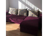 Corner sofa bed can deliver