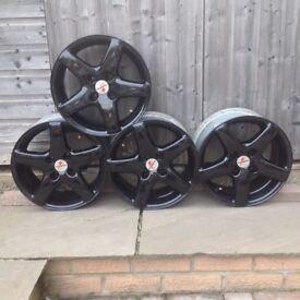 "Fondmetal 15"" alloy wheels Clio."
