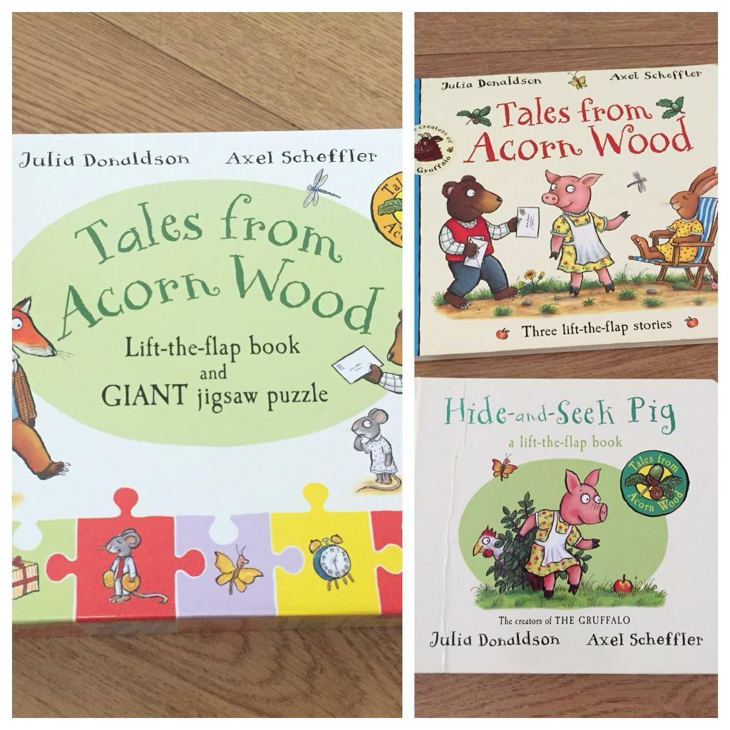 Tales from Acorn wood set books