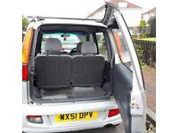 Perodua Kenari small car MOT Dec 18