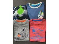 Boden T shirt bundle boys age 7-8