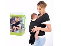 BRAND NEW InnooBaby Premium Baby Wrap Carrier Natural Cotton Nursing Baby Sling