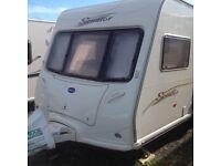Bailey Senator Indiana Series 5 Caravan for sale, 4 berth, fixed bed