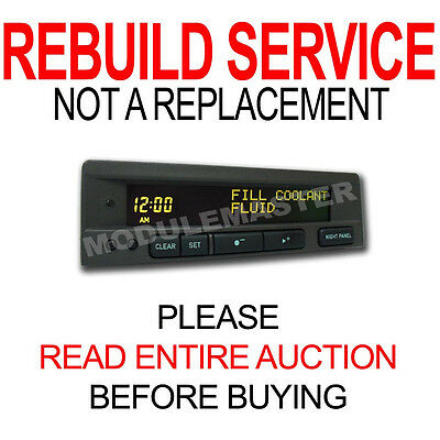 99 00 01 02 03 Saab Information Display SID LCD Panel REBUILD 9-3 9-5 for sale  Moscow
