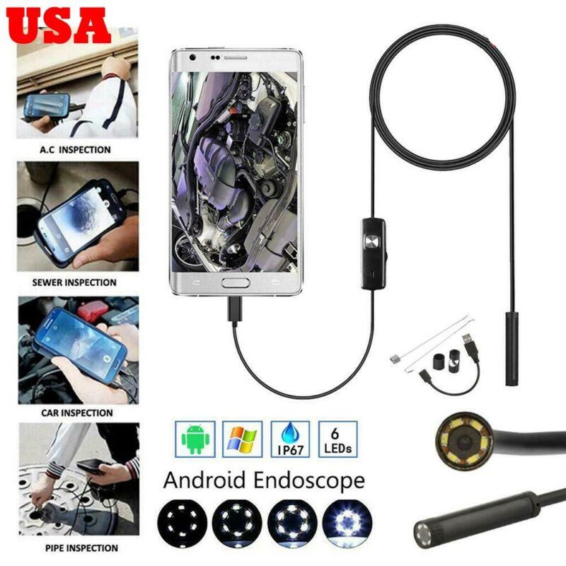 6 led usb waterproof camera borescope endoscope