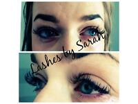 Eyelash extensions offer £25 if come to me Ba2 area