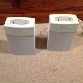 Bose soundtouch 10 wireless speakers x2