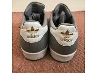 Adidas Superstars grey size 5.5