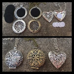 Aromatherapy Necklace for Essential Oil