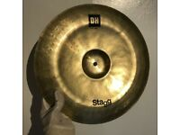 """Stagg Dual Hammered DH 14"""" China cymbal *Great Cond.* £45 ono"""